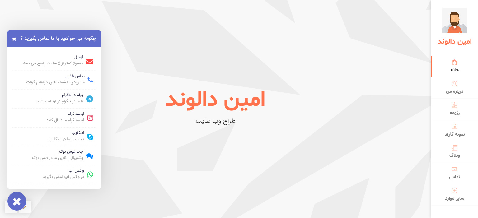 wordpress any contact us افزونه