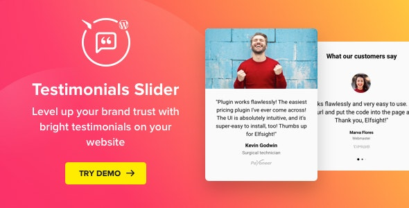 Testimonials Slider 1.5.0 WordPress Testimonials Plugin