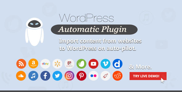 WordPress Automatic Plugin 3.46.12 Nulled